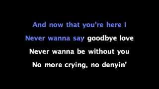 Never Say Goodbye - Jojo - KARAOKE SING ALONG with Lyrics