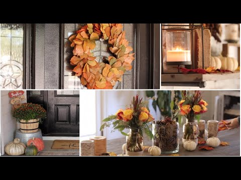 Fall Decorating (decorate w/me)