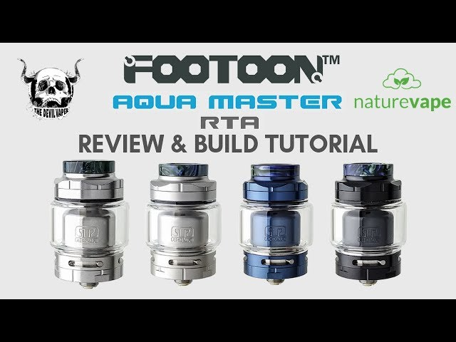 AQUA MASTER RTA by FOOTOON - Review & Build Tutorial