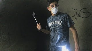 EXPLORING THE HAUNTED TUNNEL: PART 2 (WTF) | FaZe Rug