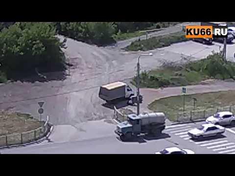 Водитель Газели с одного удара вырубил пешехода