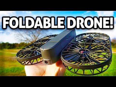 $220 Folding Selfie Camera DRONE!