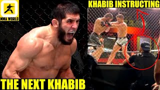 MMA Community Reacts to Islam Makhachev MAULING Thiago Moises for his 8 successive UFC win,Khabib