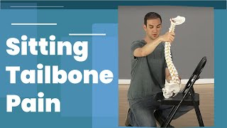 Tailbone pain from sitting Relief (Coccyx Pain)