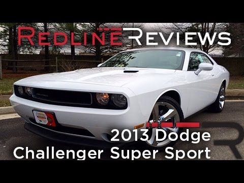 2013 Dodge Challenger Super Sport Review, Walkaround, Exhaust, & Test Drive