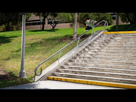 Mind Blowing and Inspiring Skateboarder with No Lower Legs Drops an Unbelievable Skateboard Part!