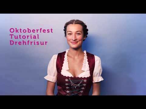 Tutorial: Drehfrisur fürs Oktoberfest I bonprix