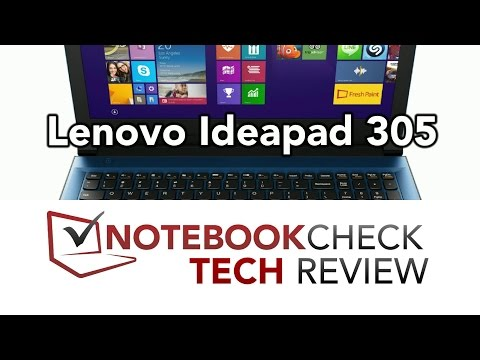 Lenovo Ideapad 305 Tech Review. (Detailed.)