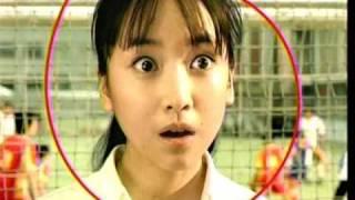 Jフォン/ボーダフォンCM黒川智花デビッド・ベッカム