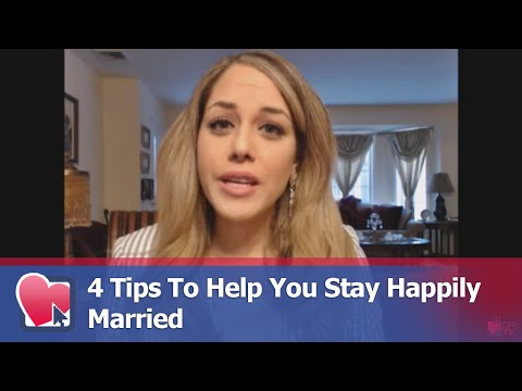 4 Tips To Help You Stay Happily Married - by Nancy Salim (for Digital Romance TV)