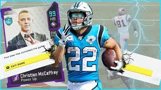 99 Christian McCaffrey LITERALLY Forces Rage Quits! (Madden 20 Ultimate Team)