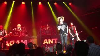 adam ant live, stand and deliver, Nottingham 28th may 2017