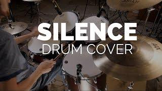 Marshmello ft. Khalid - Silence (Illenium Remix) Drum Cover