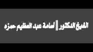 تحميل اغاني في الاعتصامات يرددون هذا الكلام !! الشيخ أسامه عبدالعظيم MP3