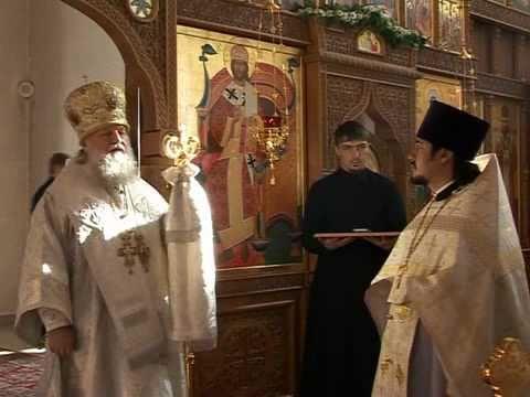 Освящение Свято-Казанского храма 9 ноября 2008 г.