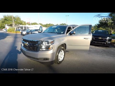 Certified Pre-Owned 2018 Chevrolet Tahoe 4WD 4dr LT