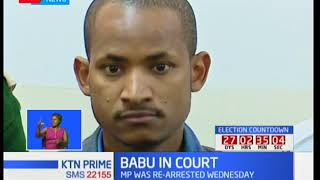 Babu Owino finally released from jail after being granted bail