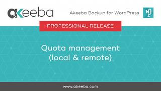 Watch a video on Quota Management (local & remote) [04:47]