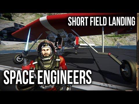 Short Field landings | Cooperative Engineering, Space Engineers |Ep8|