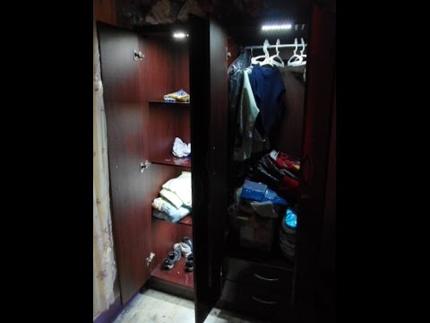 Como iluminar armario/ropero con luz LED