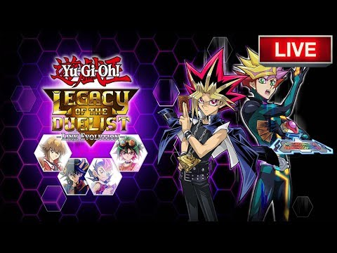 Yu-Gi-Oh! Legacy Of The Duelist: Link Evolution Early Release Live!