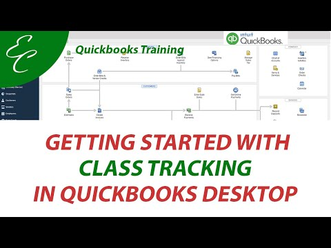Getting Started with Class Tracking on QuickBooks Desktop - YouTube