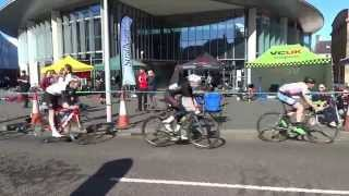 preview picture of video 'ScottishPower Youth Cycle Tour City Centre Perthshire Scotland'