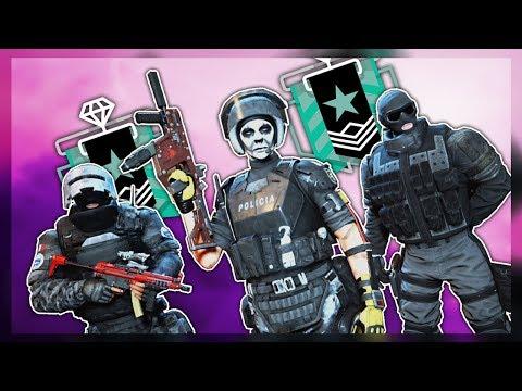 3v3 AGAINST SH*T TALKERS - Rainbow Six Siege