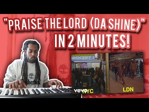 How A$AP Rocky - Praise The Lord (Da Shine) WAS MADE in UNDER 2 MINUTES ft Skepta