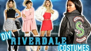 DIY RIVERDALE COSTUMES! DIY South Side Serpents Jacket & Styling | FASHION | Nava Rose