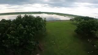 Fpv 5 inch practicing tree gap and line ups