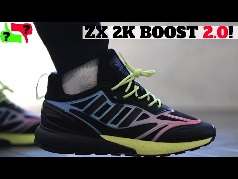 Worth Buying? NEW adidas ZX 2K BOOST 2.0 Review Comparison + On Feet!