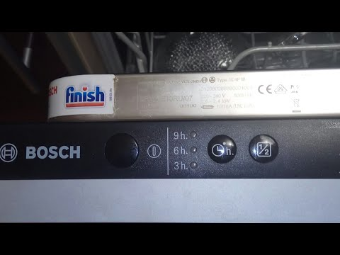 Ремонт своими руками посудомоечной машины Bosch SD4P1B механизм возврата дверцы.