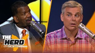 Rob Parker says LeBron brought a 4-year mess to Lakers & disappointed Giants signed Tate | THE HERD