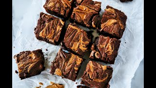 Dessert Recipe: Peanut Butter Swirl Brownies By Everyday Gourmet With Blakely