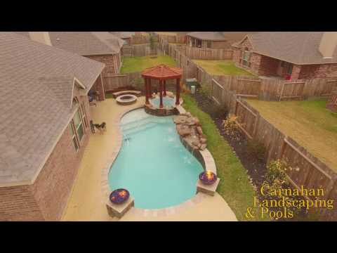 Complete Backyard Pool and Spa Design in Small Spaces by Carnahans