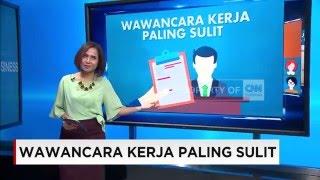 Wawancara Kerja Paling Sulit di Indonesia