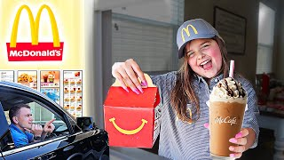 We OPENED Our Own McDonald's At Home! | JKrew