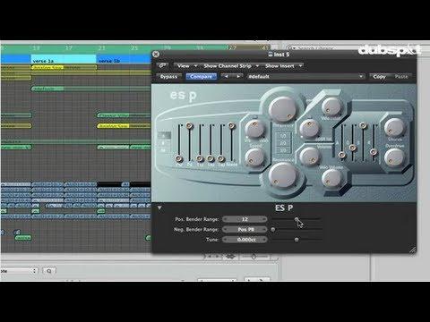 Logic Pro Tutorial: Filter Sweeps + Transition Effects Using ES P Synthesizer w/ Matt Shadetek