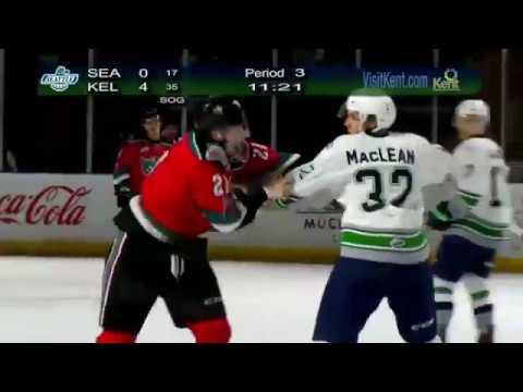 Mike MacLean vs. Kyle Pow