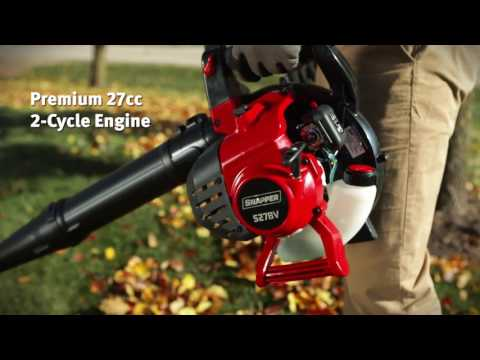 2018 Snapper Gas Powered Handheld BlowerVac (S27BV) in Fond Du Lac, Wisconsin - Video 1