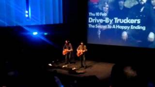 Drive-By Truckers - Zip City Acoustic Live @Barbican Theatre London 10 Feb 2011