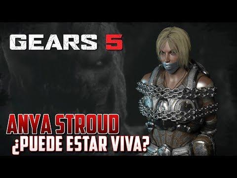 GEARS 5 | ANYA STROUD | SECRETOS DETRÁS DE SU MUERTE