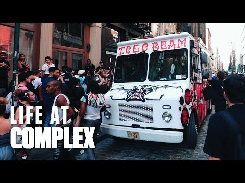 Madness In Soho, Billionarie Boys Club Truck!   #LIFEATCOMPLEX