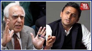 Samajwadi Party Cycle Wars Congress Kapil Sibal Defends Akhilesh Yadav At Poll Office