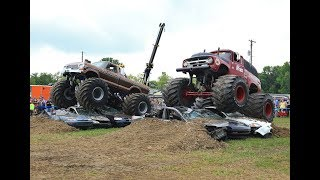 OLD SKOOL Monster Truck Racing from BIGFOOT Open House - Jun.2, ,2018 - BIGFOOT 4x4, Inc.