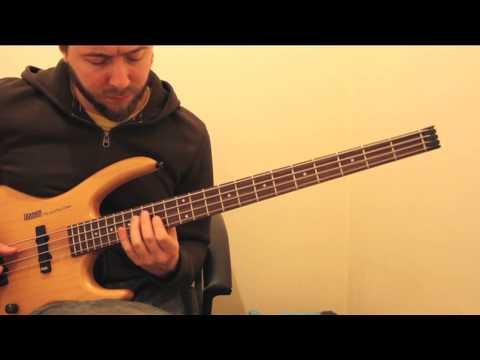 Silent Night solo bass guitar