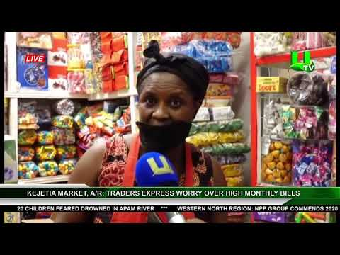 A/R, Kejetia Market: Traders Express Worry Over High Monthly Bills