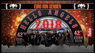 Hells Angels Euro Run 2018 Serbien