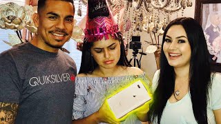 We Had To Prank Her for Her Birthday (iPhone 8 Prank)